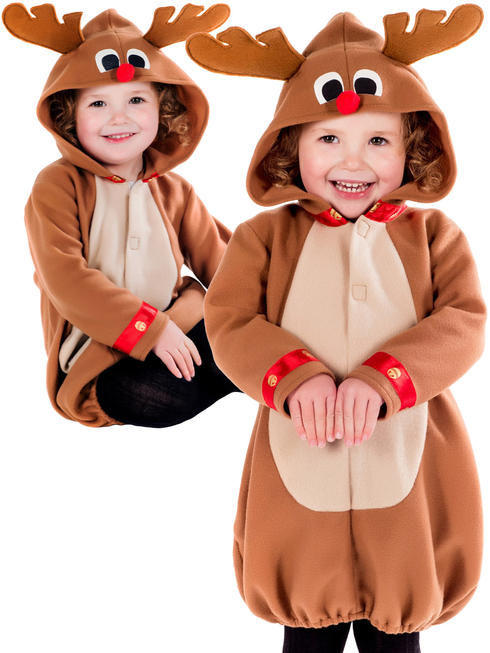 Girl's Toddler Reindeer Costume