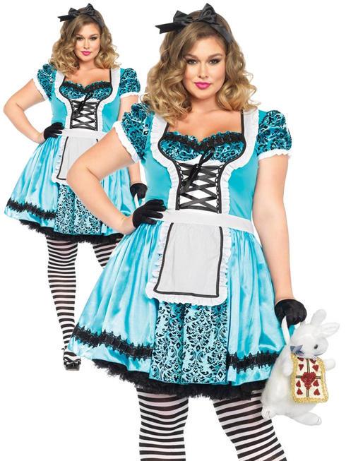 Ladies Tea Party Alice Costume