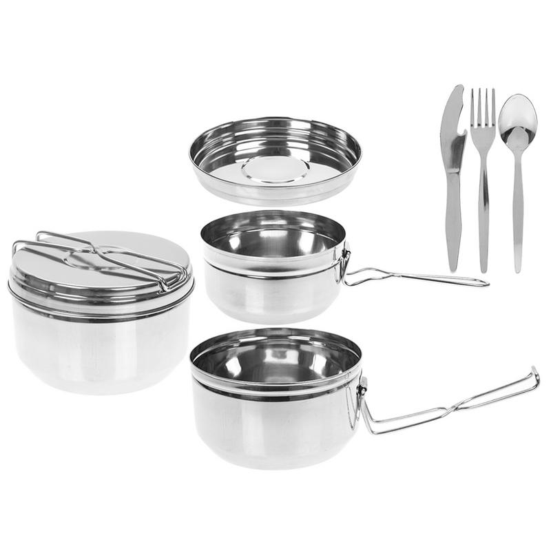 SUMMIT TIFFIN STYLE 6 PC COOK SET