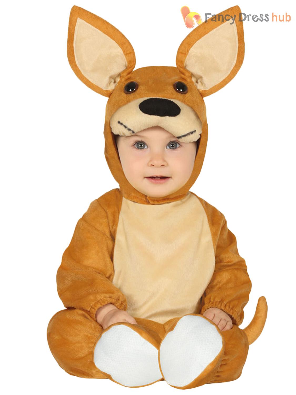 Baby-Toddler-Monkey-Unicorn-Kangaroo-Dalmatian-Costume-Childs-Animal-Fancy-Dress thumbnail 5