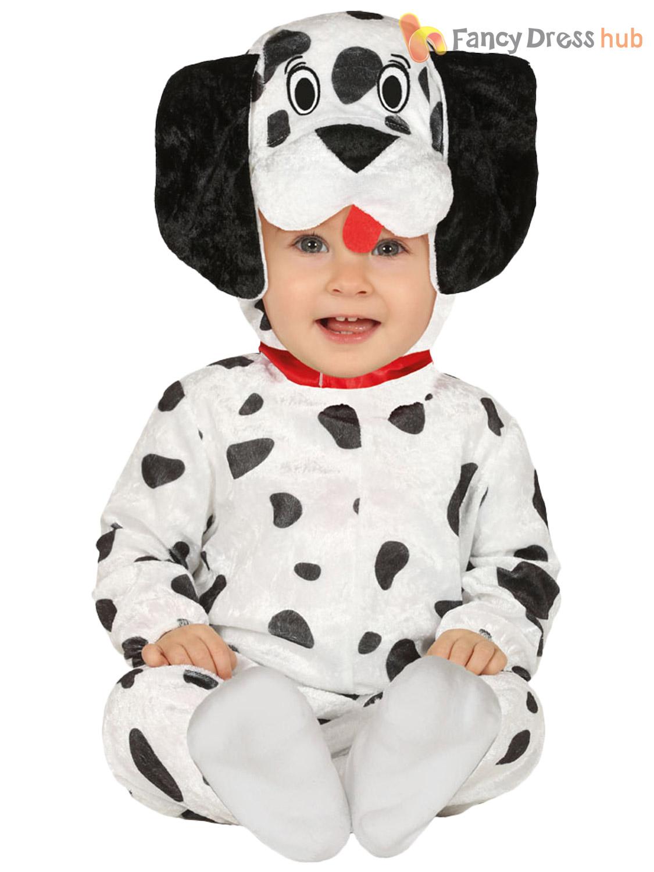 Baby-Toddler-Monkey-Unicorn-Kangaroo-Dalmatian-Costume-Childs-Animal-Fancy-Dress thumbnail 3