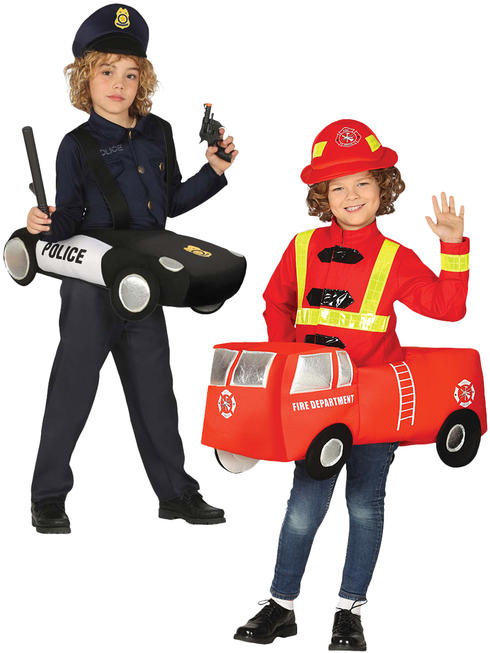 Child's Police Car / Fire Engine Costume