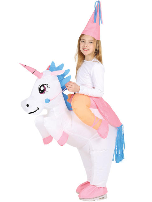 Girl's Inflatable Unicorn Costume