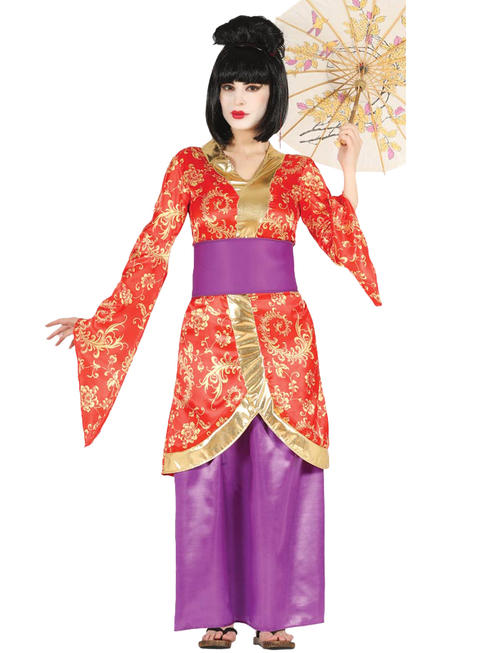 Ladies Geisha Girl Costume