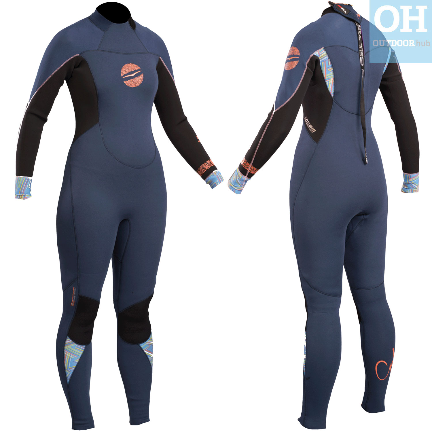 2018 Gul Response Womens 4 3mm GBS Back Zip Wetsuit Black Re1248-b4 12.  About this product. Picture 1 of 5  Picture 2 of 5  Picture 3 of 5 ... 9846fc80a