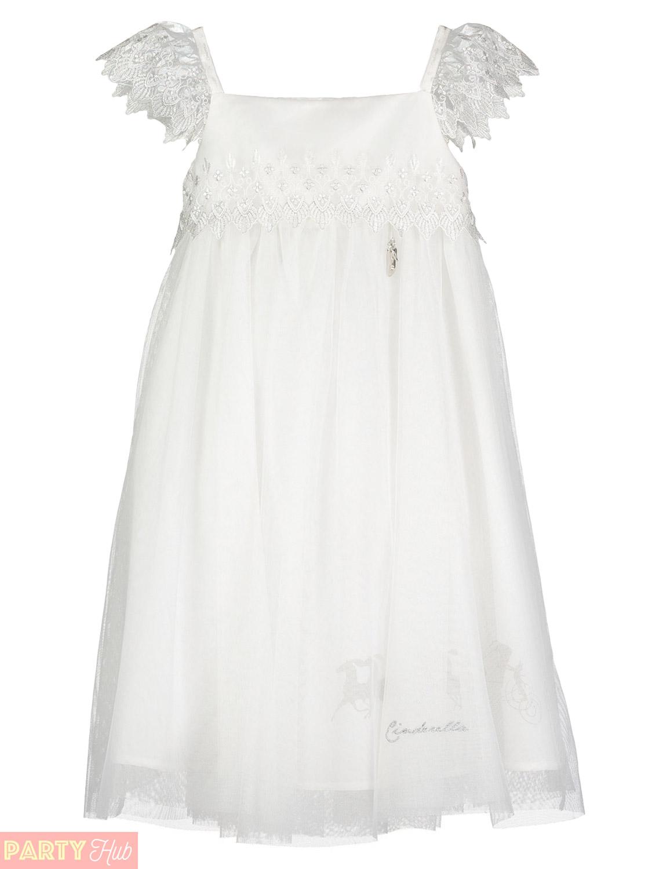 Girls-Deluxe-Cinderella-White-Lace-Dress-Childs-Disney-Travis-Design-Costume