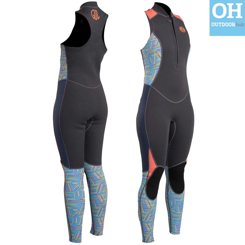 Gul-Response-3mm-2mm-Long-John-Long-Jane-Wetsuit-Neoprene-Front-Zip-Mens-Ladies thumbnail 20