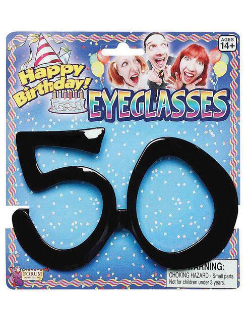 Adult's 50th Birthday Glasses