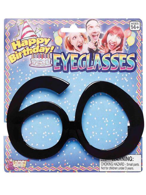 Adult's 60th Birthday Glasses