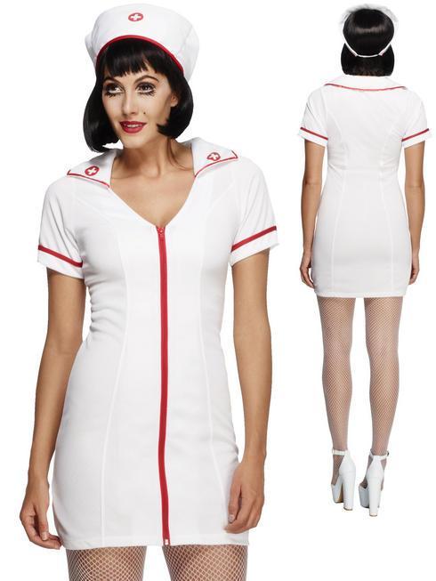Ladies Fever No Nonsense Nurse Costume