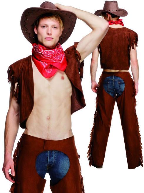 Men's Fever Ride Em High Cowboy Costume