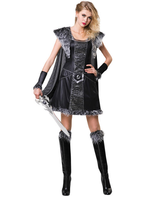 Ladies Medieval Warrior Princess Costume