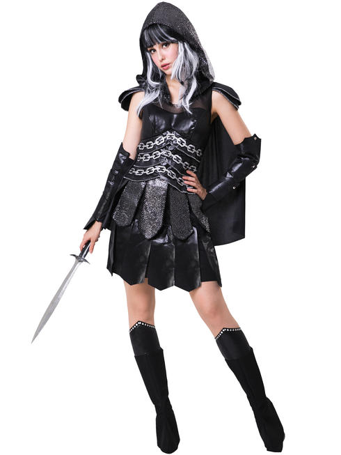 Ladies Dark Warrior Costume