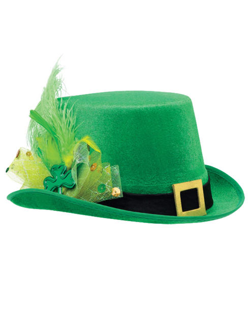 Adult's Fancy Leprechaun Hat