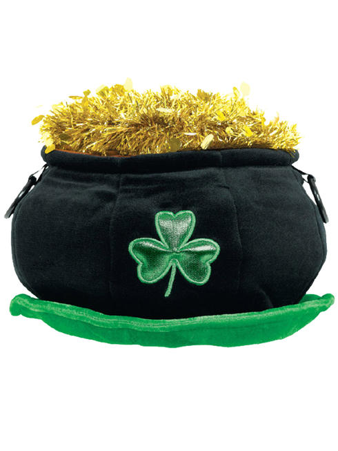 Adult's Pot Of Gold Hat