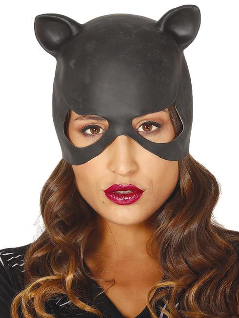 Ladies Latex Cat Mask