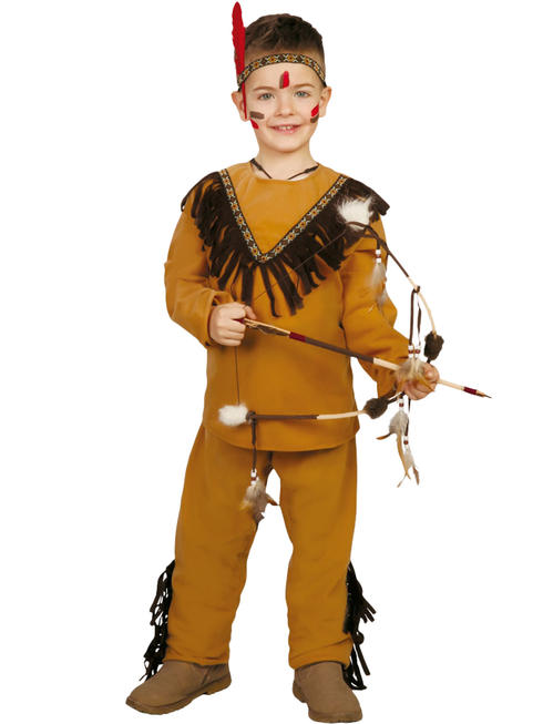 Boy's Native Indian Costume