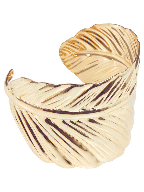 Ladies Roman Leaf Bangle