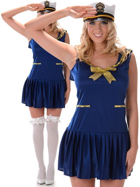 Ladies Sailor Girl Costume