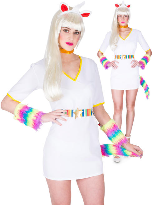Ladies Mythical Unicorn Costume