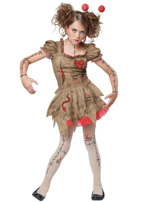 Girl's Tween Voodoo Dolly Costume