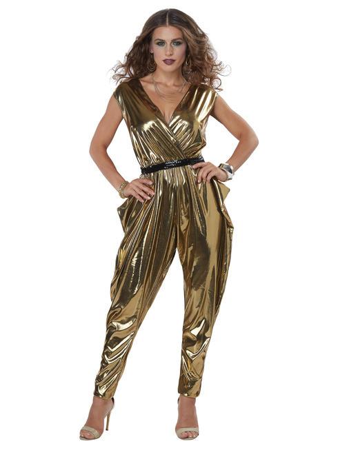 Ladies 70s Glitz N Glamour Costume - Men's Disco King Costume