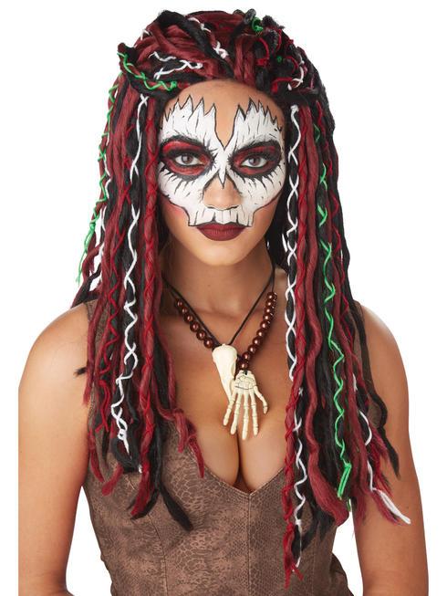 Ladies Voodoo Priestess Wig
