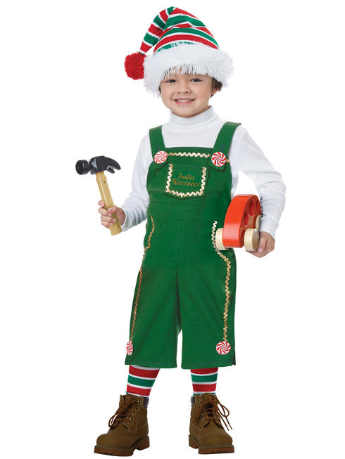 Toddler Jolly Lil' Elf Costume