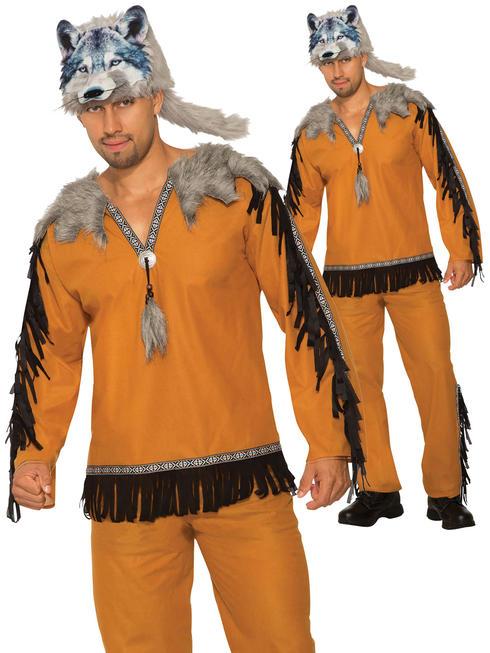 Men's Wolf Spirit Costume