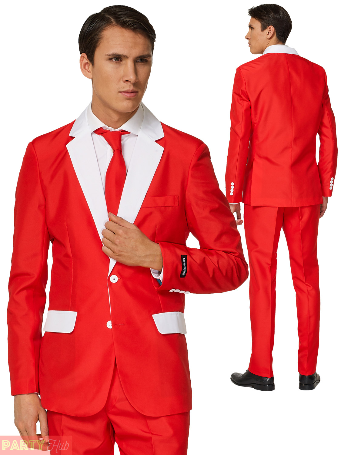 Mens Christmas Suitmeister Suit Xmas Party Festive Funny ...