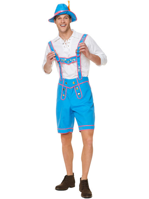 Men's Bavarian Waiter Costume