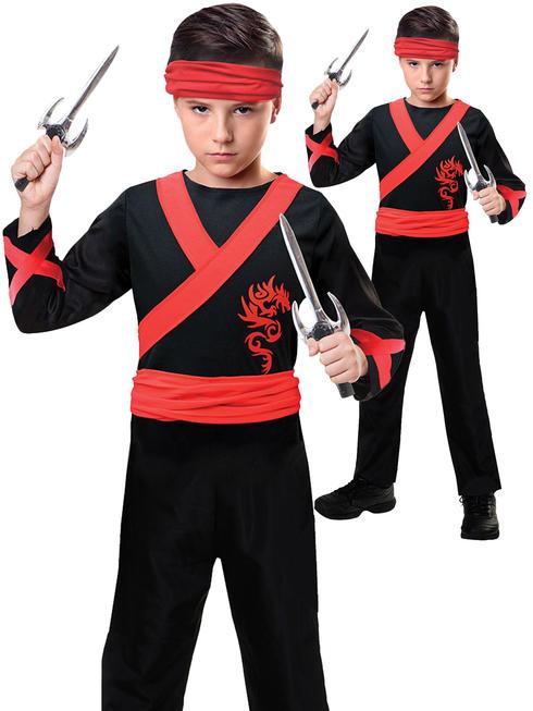 Boy's Dragon Ninja Costume