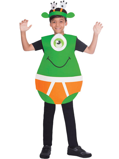 Boy's Outerspace Underpants Costume