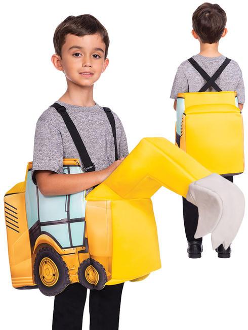 Boy's Ride On Digger Costum