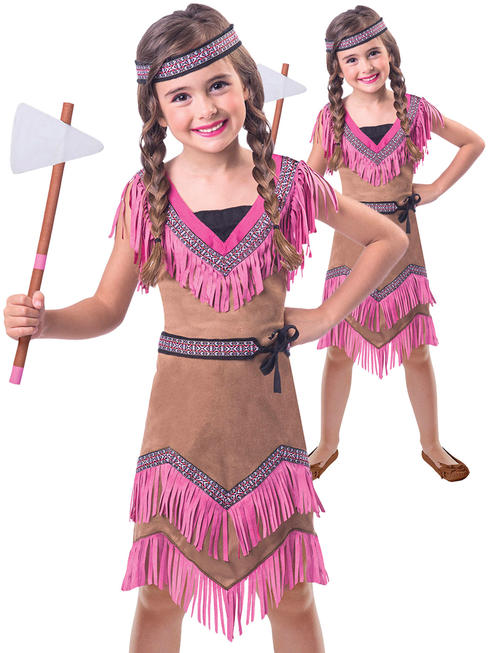 Girl's Native American Costume