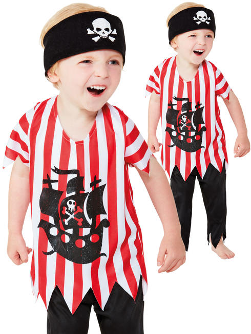 Baby / Toddler Jolly Pirate Costume