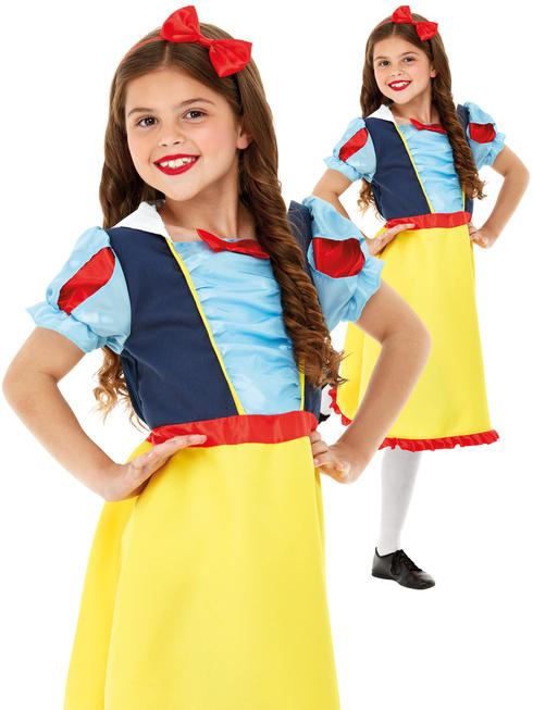 Girl's Deluxe Snow Princess Costume