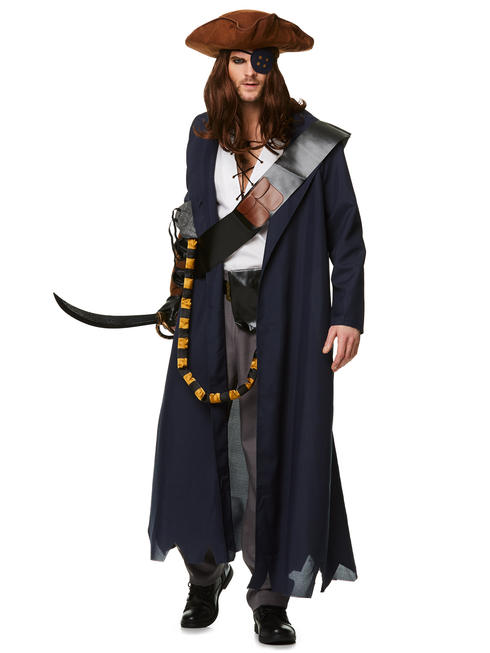 Men's Pirate Voyager Costume