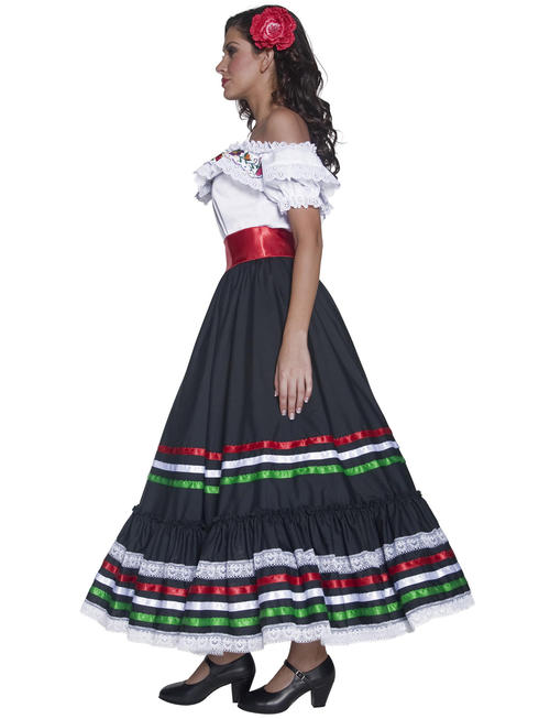 Ladies Authentic Western Sexy Senorita Costume