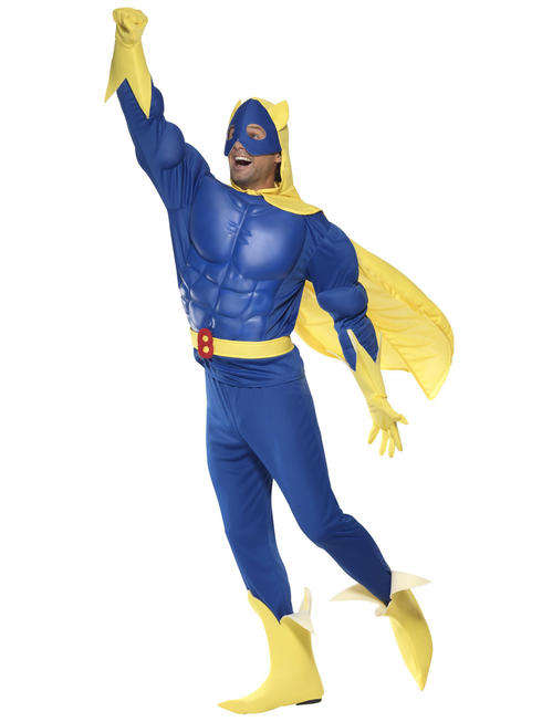 Mens Bananaman Eva Chest Costume