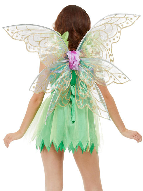 Ladies Pretty Pixie Fairy Wings
