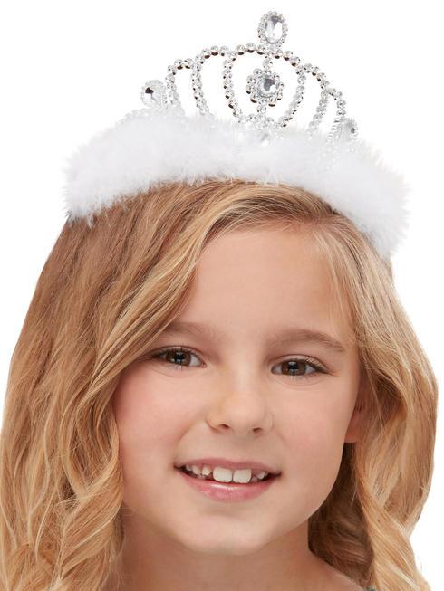 Girls Princess Tiara - Silver