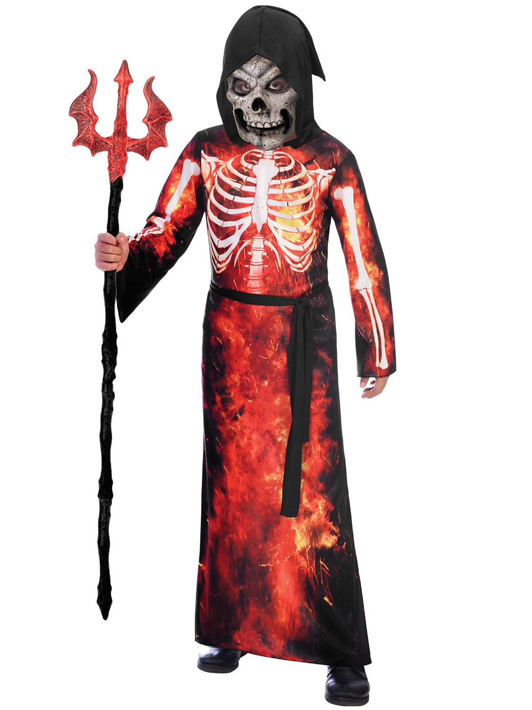 Grim Reaper Costume Halloween Fancy Dress