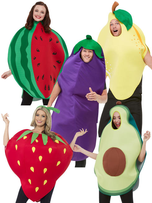 Adults Vegetable And Fruit Costume
