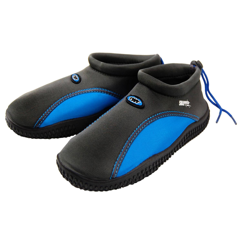 TWF-Playa-Aqua-Zapatos-para-hombre-senoras-CHICOS-CHICAS-CHILDS-Adultos-Deportes-Acuaticos-Mar-Surf miniatura 57