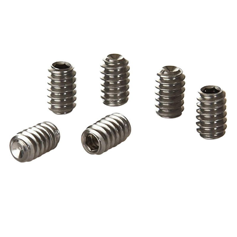 FCS Stainless Steel Grub Screws x6
