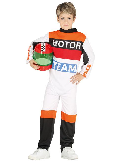Boys Motorbike Pilot Costume
