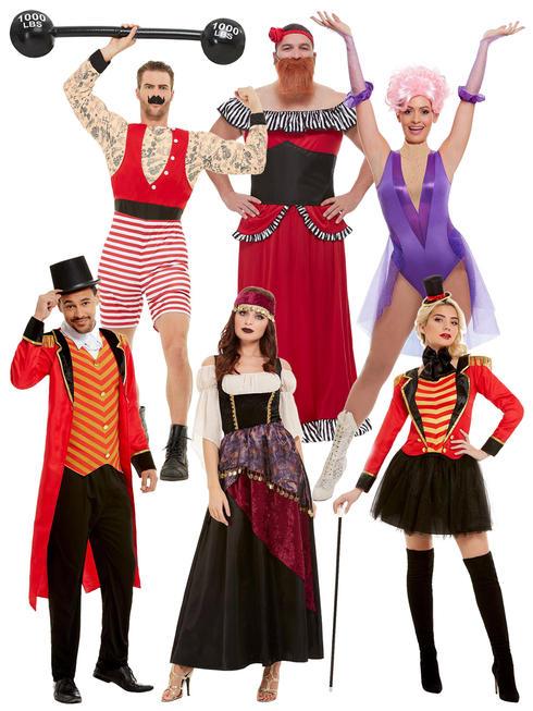 Mens & Ladies Deluxe Ringmaster Costume