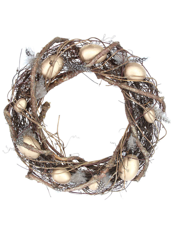 Gisela-Graham-Primavera-Corona-Decoracion-de-Mesa-de-huevos-de-Pascua-Flores-Casa-Puerta-Floral miniatura 12