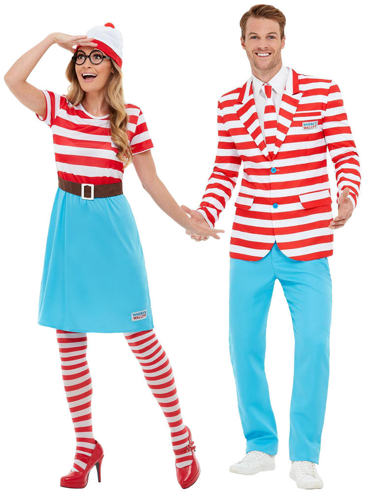 Adults Where's Wally Suit